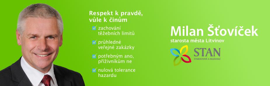 Milan Šťovíček - Profil